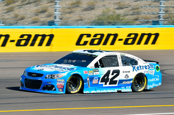 Monster Energy NASCAR Cup Series Can-Am 500 Phoenix Raceway, Avondale, AZ USA Friday 10 November 2017 Kyle Larson, Chip Ganassi Racing, Refresh Your Car! Chevrolet SS World Copyright: Nigel Kinrade LAT Images