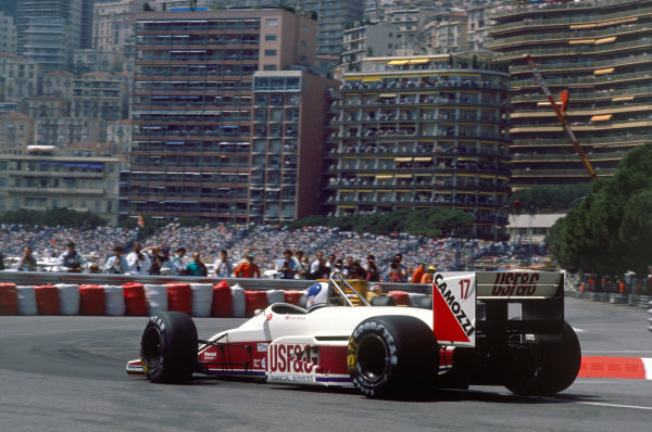 Monte Carlo, Monaco. 12th - 15th May 1988.
