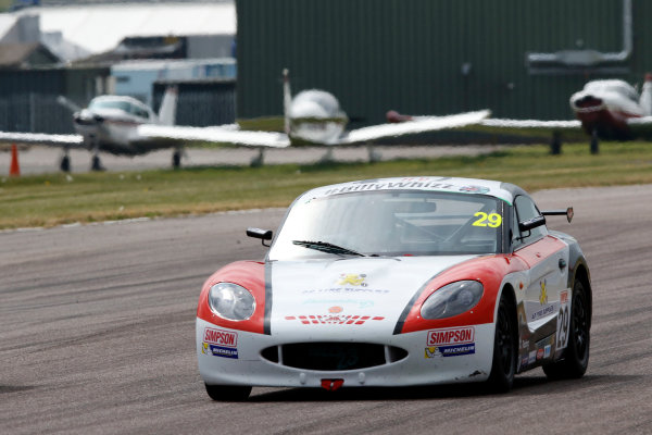 2017 Ginetta Junior championship  Thruxton, 6th-7th May 2017,  Harry Dyson JHR Developments Ginetta Junior World copyright. JEP/LAT Images