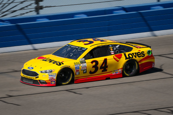 2017 Monster Energy NASCAR Cup Series Auto Club 400 Auto Club Speedway, Fontana, CA USA Friday 24 March 2017 Landon Cassill World Copyright: Barry Cantrell/LAT Images