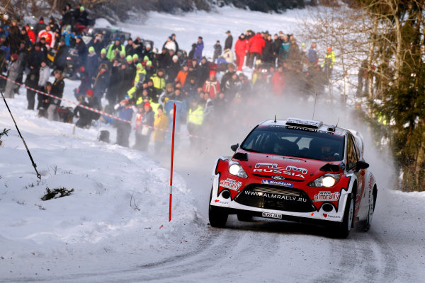 Round 02 - Rally Sweden 09-12 February 2012. Evgeny Novikov, Ford WRC, Action.  Worldwide Copyright: McKlein/LAT