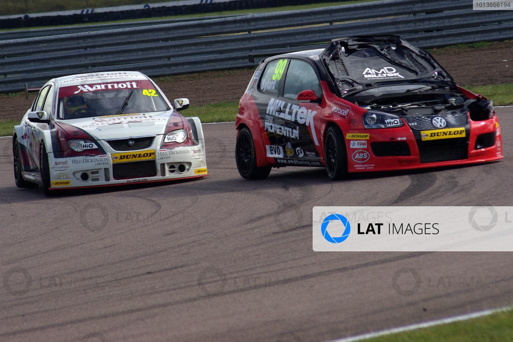 Rockingham, Northamptonshire. 17th - 18th September 2011.Martyn Byford (GBR) AmD Milltek Racing com.World Copyright: Ebrey/LAT Photographic.