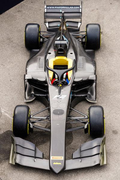 Autodromo Nazionale di Monza, Italy. Thursday 31 August 2017 The new 2018 F2 car. Photo: Steven Tee/FIA Formula 2 ref: Digital Image _R3I2010