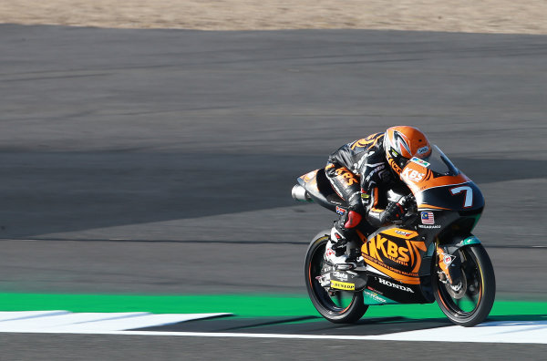 2017 Moto3 Championship - Round 12 Silverstone, Northamptonshire, UK. Friday 25 August 2017 Adam Norrodin, SIC Racing Team World Copyright: Gold and Goose / LAT Images ref: Digital Image 688462