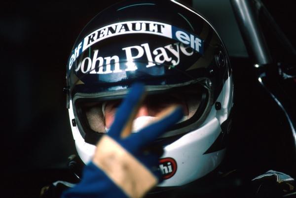 Johnny Dumfries (GBR) Lotus 98TFormula One World Championship 1986