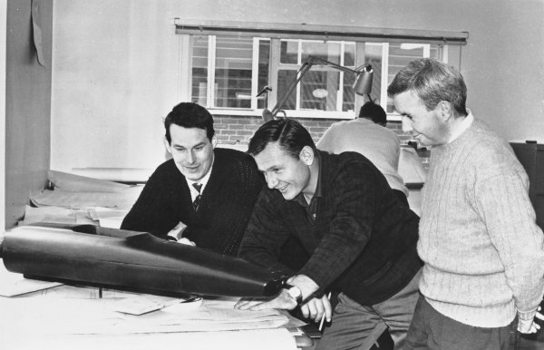 1968 Team McLaren Factory.