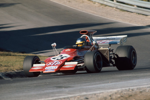 1972 Canadian Grand Prix.  Mosport, Canada. 22-24th September 1972.  Ronnie Peterson, March 721G Ford.  Ref: 72CAN15. World Copyright: LAT Photographic