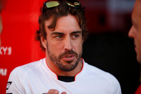 Hungaroring, Budapest, Hungary. Friday 22 July 2016. Fernando Alonso, McLaren. World Copyright: Glenn Dunbar/LAT Photographic ref: Digital Image _W2Q6587