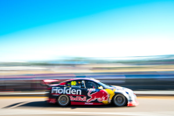 2017 Supercars Championship Round 6.  Darwin Triple Crown, Hidden Valley Raceway, Northern Territory, Australia. Friday June 16th to Sunday June 18th 2017. Jamie Whincup drives the #88 Red Bull Holden Racing Team Holden Commodore VF. World Copyright: Daniel Kalisz/LAT Images Ref: Digital Image 180617_VASCR6_DKIMG_4286.jpg