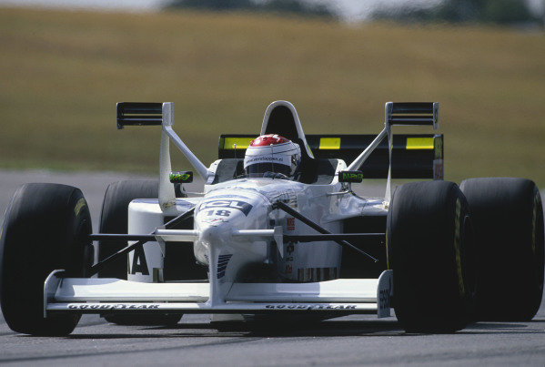 Buenos Aires, Argentina. 11-13 April 1997.Jos Verstappen (Tyrrell 025 Ford).Ref-97 ARG 28.World Copyright - LAT Photographic