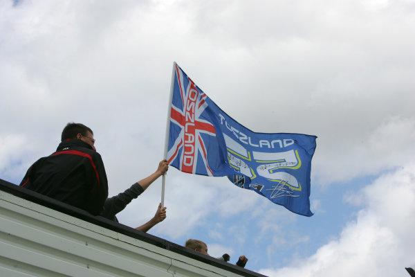 Donington Park, England. 22nd June 2008.MotoGP Race.Toseland Flag.World Copyright: Martin Heath/ LAT Photographicref: Digital Image
