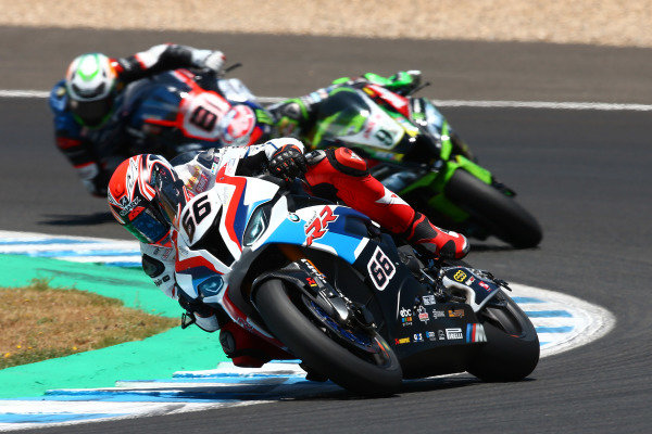 Tom Sykes, BMW Motorrad WorldSBK Team, Leon Haslam, Kawasaki Racing
