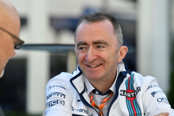 Paddy Lowe (GBR) Williams Shareholder and Technical Director at Formula One World Championship, Rd1, Australian Grand Prix, Preparations, Albert Park, Melbourne, Australia, Thursday 23 March 2017.
