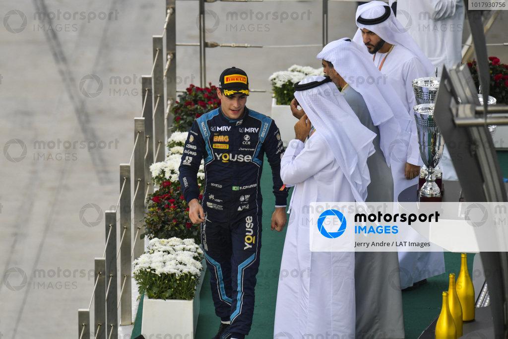Sergio Sette Camara (BRA, DAMS), on the podium in race two
