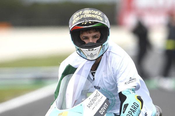 Race winner Lorenzo Dalla Porta, Leopard Racing, second place Marcos Ramirez, Leopard Racing