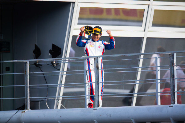 AUTODROMO NAZIONALE MONZA, ITALY - SEPTEMBER 07: Nobuharu Matsushita (JPN, CARLIN) during the Monza at Autodromo Nazionale Monza on September 07, 2019 in Autodromo Nazionale Monza, Italy. (Photo by Joe Portlock / LAT Images / FIA F2 Championship)
