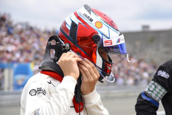 Shelton van der Linde, BMW Team RBM.