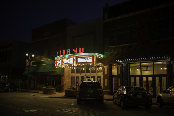Grinell, Iowa, Strand Theater