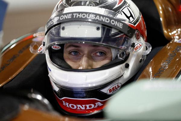 2018 IndyCar Phoenix testing Phoenix Raceway, Avondale, Arizona, USA Friday 9 February 2018 Zach Veach, Andretti Autosport Honda World Copyright: Michael L. Levitt LAT Images ref: Digital Image _01I1920