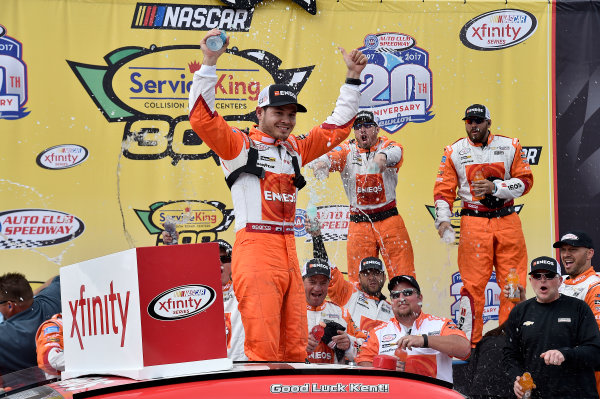 2017 NASCAR Xfinity Series Service King 300 Auto Club Speedway, Fontana, CA USA Saturday 25 March 2017 Kyle Larson World Copyright: Rusty Jarrett/LAT Images ref: Digital Image 17FONrj_4961