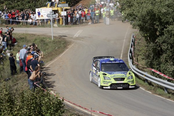 FIA World Rally Championship 2007Round 12Rally of Spain, Catalunya.4th - 7th October 2007Marcus Gronholm, Ford, action.Worldwide Copyright: McKlein/LAT