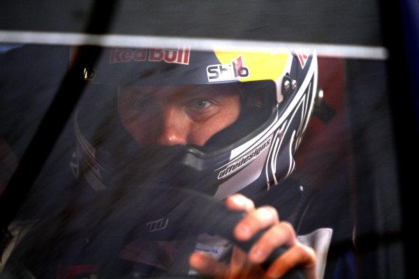 Round 11Rally de France 30/9-3/10Kimi Raikkonen, Citroen WRC, Portrait.Worldwide Copyright: McKlein/LAT