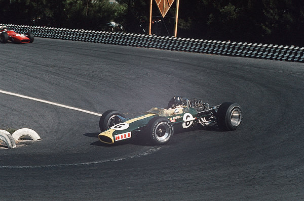 Mexico City, Mexico.20-22 October 1967.Graham Hill (Lotus 49 Ford).Ref-35mm 67 MEX 11World Copyright - LAT Photographic