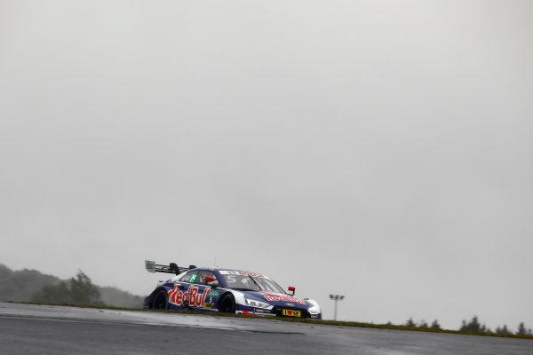 2017 DTM Round 7  Nürburgring, Germany  Friday 8 September 2017. Mattias Ekström, Audi Sport Team Abt Sportsline, Audi A5 DTM  World Copyright: Alexander Trienitz/LAT Images ref: Digital Image 2017-DTM-Nrbg-AT1-0660