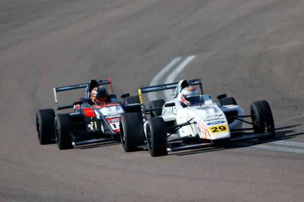 2017 British F4 Championship, Rockingham, 26th-27th August 2017, Luca Allen (IRL) Falcon Motorsport British F4  World copyright.. JEP/LAT Images