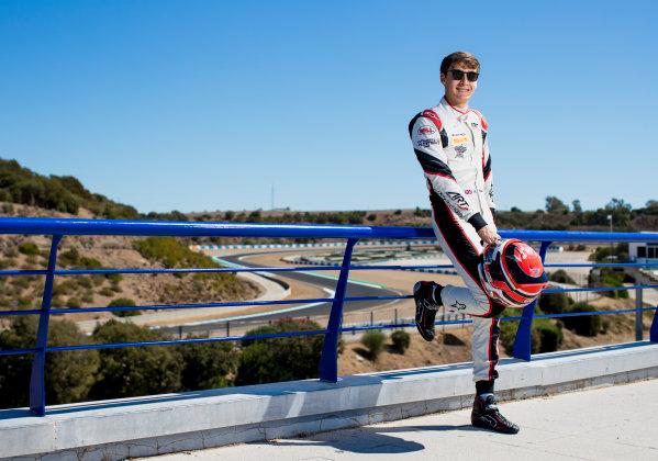 2017 GP3 Series Round 7.  Circuito de Jerez, Jerez, Spain. Thursday 5 October 2017. George Russell (GBR, ART Grand Prix).  Photo: Zak Mauger/GP3 Series Media Service. ref: Digital Image _56I3942