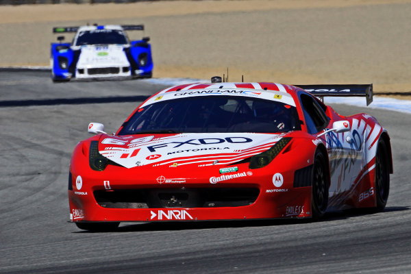 7-9 September, 2012, Monterey, California USAThe #69 Ferrari of Jeff Segal and Emil Assentato is shown in action during practice.©2012, R D. EthanLAT Photo USA