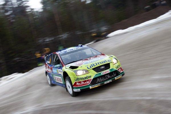 2008 FIA World Rally ChampionshipRound 02Swedish Rally7-10 February 2008Jari Matti Latvala, Ford, Action.Worldwide Copyright: McKlein/LAT