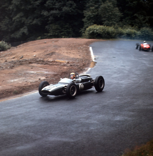 Nurburgring, Germany.3-5 August 1962.Tony Maggs (Cooper T55 Climax) 9th position.Ref-3/0624.World Copyright - LAT Photographic