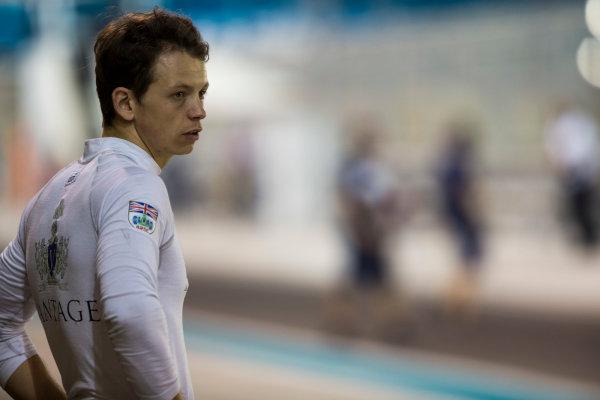 2015 GP2 Series Test 3. Yas Marina Circuit, Abu Dhabi, United Arab Emirates. Friday 4 December 2015. Nick Yelloly (GBR, MP Motorsport). World Copyright: Zak Mauger/LAT Photographic. ref: Digital Image _L0U5219
