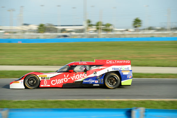 17-18  November,  2015, Daytona Beach, Florida, USA 0, Elan, DeltaWing DWC13, P, Katherine Legge, Andy Meyrick ©2015, Richard Dole LAT Photo USA