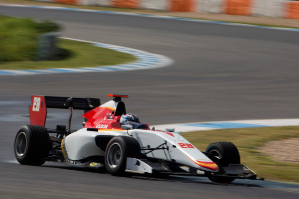 2017 GP3 Series Testing Estoril, Portugal. Thursday 23 March 2017 Marcos Siebert (ARG, Campos Racing). Action. Photo: Alastair Staley/GP3 Series Media Service ref: Digital Image 580A3964