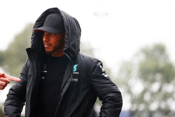 Shanghai International Circuit, Shanghai, China.  Thursday 06 April 2017. Lewis Hamilton, Mercedes AMG.  World Copyright: Andy Hone/LAT Images ref: Digital Image _ONY3407