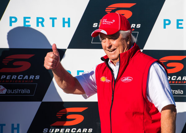 2017 Supercars Championship Round 4.  Perth SuperSprint, Barbagallo Raceway, Western Australia, Australia. Friday May 5th to Sunday May 7th 2017. Roger Penske team owner of DJR Team Penske. World Copyright: Daniel Kalisz/LAT Images Ref: Digital Image 060517_VASCR4_DKIMG_3887.JPG