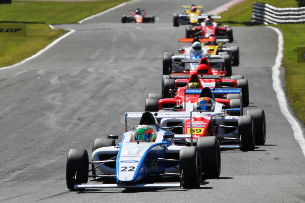 2015 MSA Formula Powered by Ford EcoBoost, Oulton Park, Cheshire. 5th - 7th June 2015. Tarun Reddy (IND) Double R Racing MSA Formula. World Copyright: Ebrey / LAT Photographic.