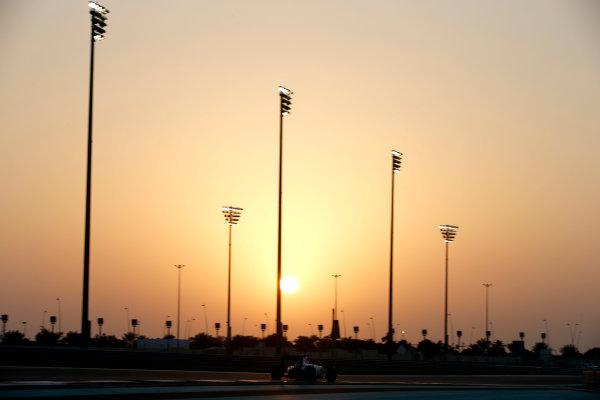Yas Marina Circuit, Abu Dhabi, United Arab Emirates. Wednesday 26 November 2014. Felipe Nasr, Williams FW36 Mercedes. World Copyright: Glenn Dunbar/LAT Photographic. ref: Digital Image _W2Q8606