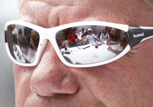 Nico Rosberg, Mercedes GP W02, captured in the reflection of a pair of sunglasses. Portrait.  World Copyright: Steve Etherington/LAT Photographic ref: Digital Image SNE28231
