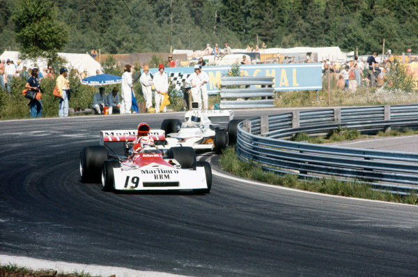 Anderstorp, Sweden. 17 June 1973.Clay Regazzoni (B.R M. P160E), 9th position, action. World Copyright: LAT Photographic.Ref:  73SWE70.