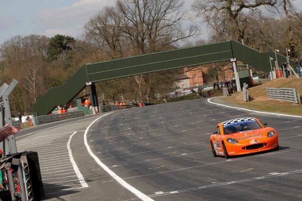 2013 Protyre Motorsport Ginetta GT5 Challenge, Oulton Park, Cheshire. 30th March 2013. Brad Bailey World Copyright: Ebrey / LAT Photographic.