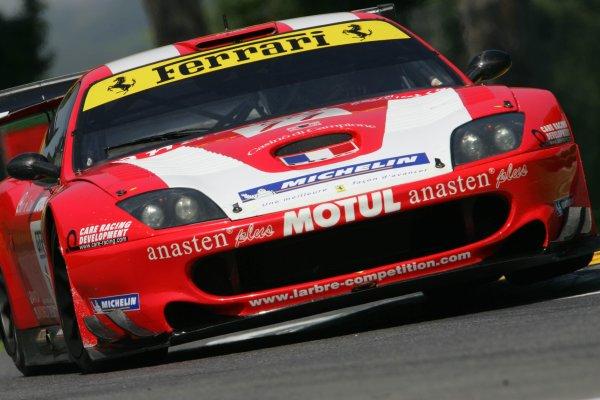 2005 FIA GT ChampionshipImola, Italy. 28th - 29th May 2005Lamy/Gardel (No. 11 Ferrari 550 Maranello). Action. World Copyright: Photo4/LAT Photographicref: Digital Image Only