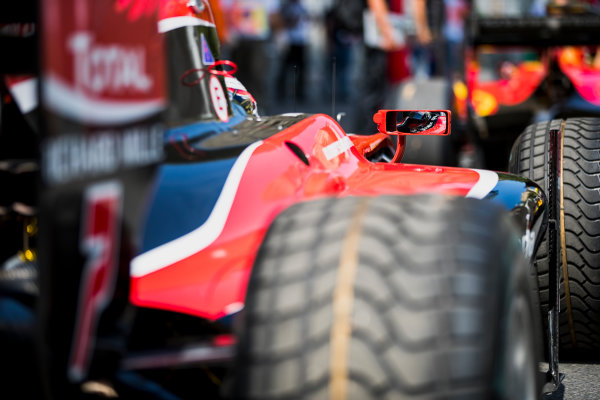 2017 FIA Formula 2 Round 4. Baku City Circuit, Baku, Azerbaijan. Friday 23 June 2017. Nobuharu Matsushita (JPN, ART Grand Prix)  Photo: Zak Mauger/FIA Formula 2. ref: Digital Image _56I6754