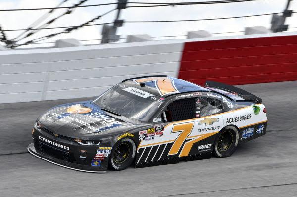 #7: Justin Allgaier, JR Motorsports, Chevrolet Camaro Chevrolet Accessories