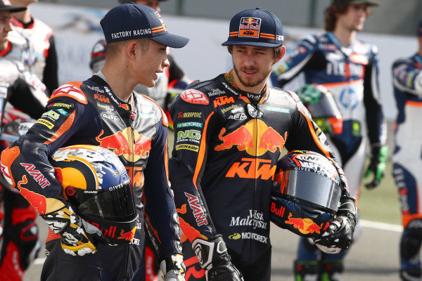 Raul Fernandez, Red Bull KTM Ajo, Remy Gardner, Red Bull KTM Ajo.