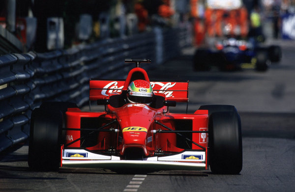 2001 F3000 ChampionshipMonte Carlo, Monaco. 26th May 20012nd place Justin Wilson (Coca-Cola Nordic Racing) - action.World Copyright: Clive Rose / LAT Photographicref: 35mm Image A06