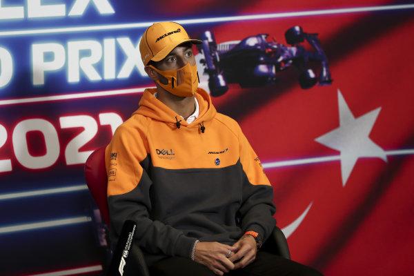 Daniel Ricciardo, McLaren press conference