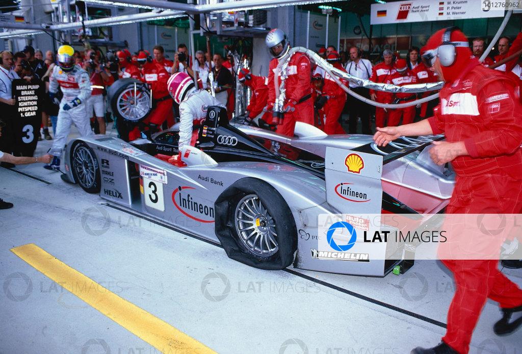 2002 Le Mans 24hr, La Sarthe, France, 15 -16 June 2002.